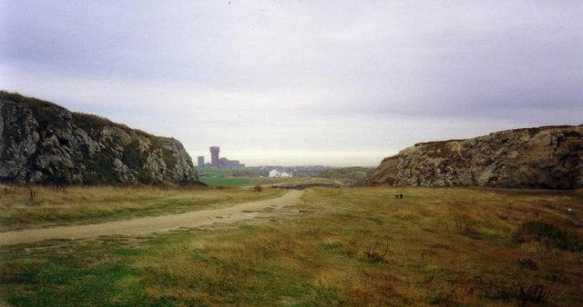 The Lawe, looking towards Westoe Colliery
