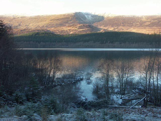 Loch Laggan south shore near Ardverikie