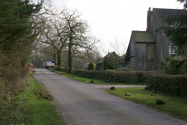 End of Windmill Lane