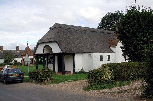 House opposite St Lawrence Church, Ardeley, Herts