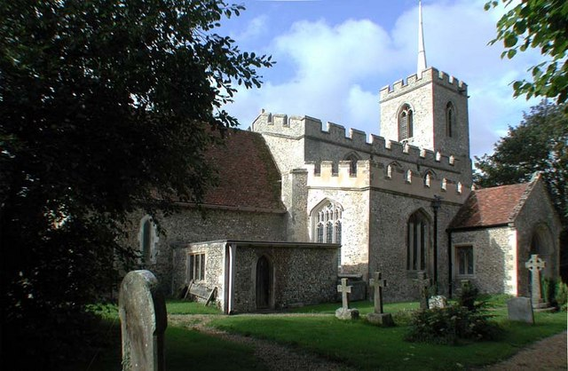 St Lawrence Church, Ardeley, Herts