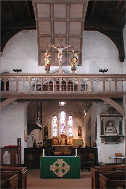 St Lawrence Church, Ardeley, Herts - East end