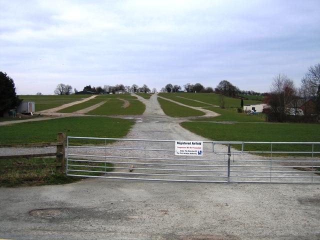 Registered Airfield near Chirk
