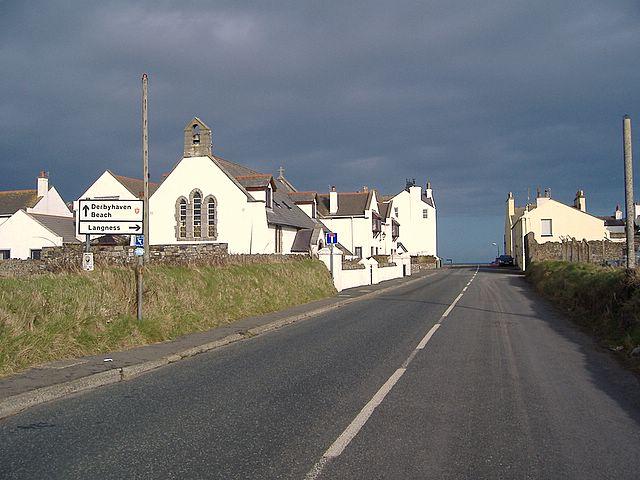Entering Derbyhaven, Isle of Man