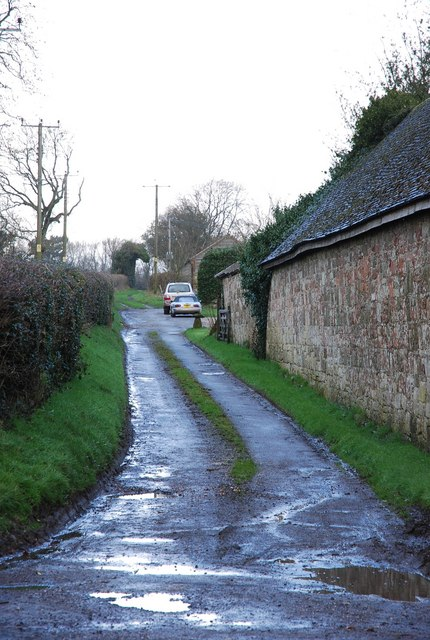 Lane next to Manor Farm