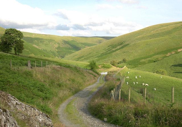 Drovers Road to Soar y Mynydd