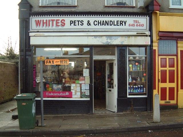 Whites Pet Shop