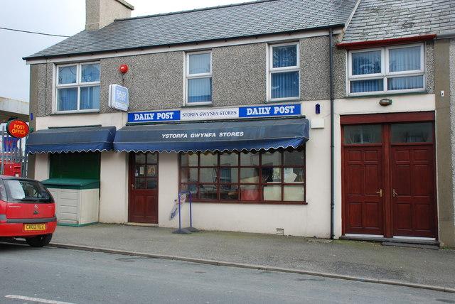 Swyddfa'r Post  Y Ffôr Post Office