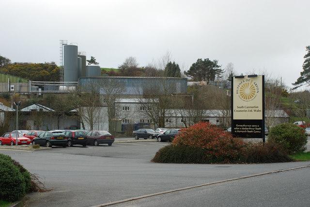 Hufenfa De Arfon - South Caernarfon Creameries