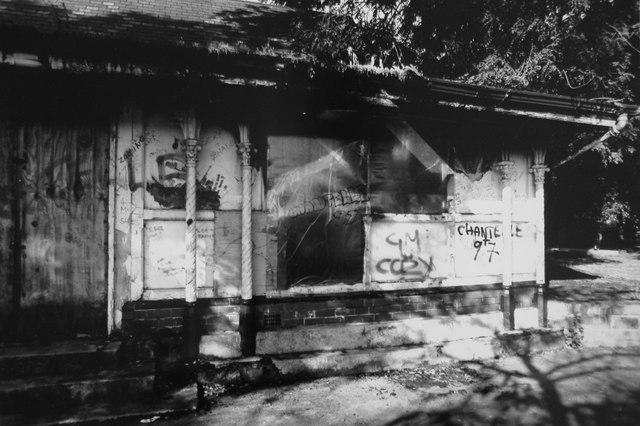Derelict Cafeteria, Alexandra Park, Moss Side