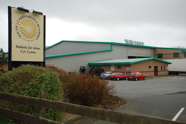 Hufenfa De Arfon South Caernarfon Creameries