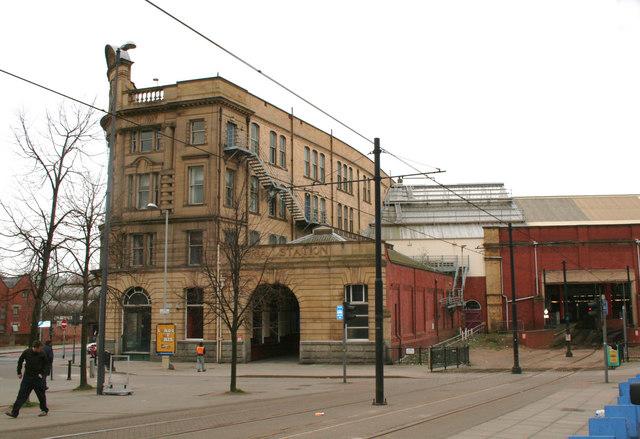 Victoria station, Manchester - side entrance