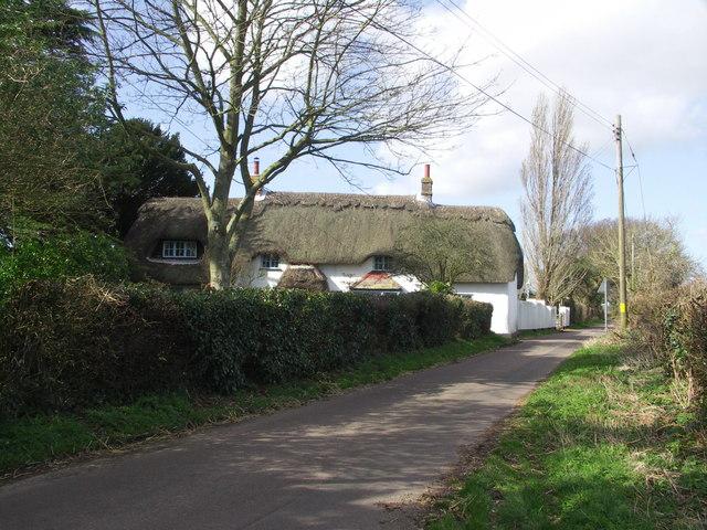 Cottage on Hawthorn Road