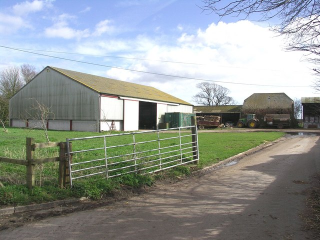 More buildings at Bockhampton Farm