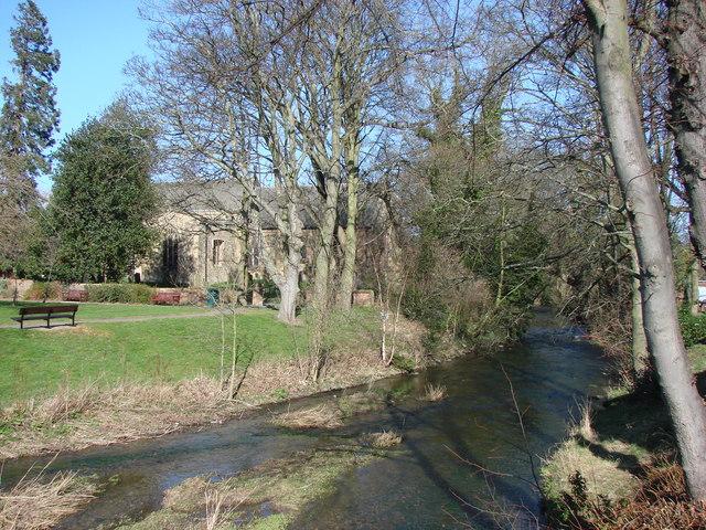 The  River Pont, Ponteland.