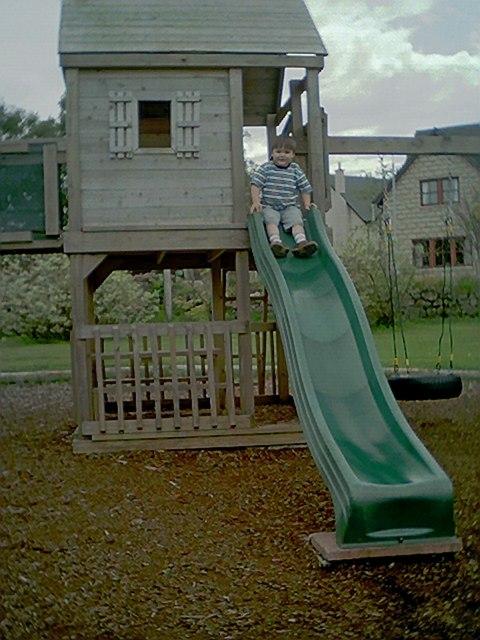 Playpark at Raemoir Garden Centre.