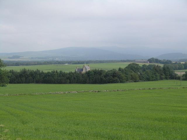 Balfluig Castle & the Howe of Alford