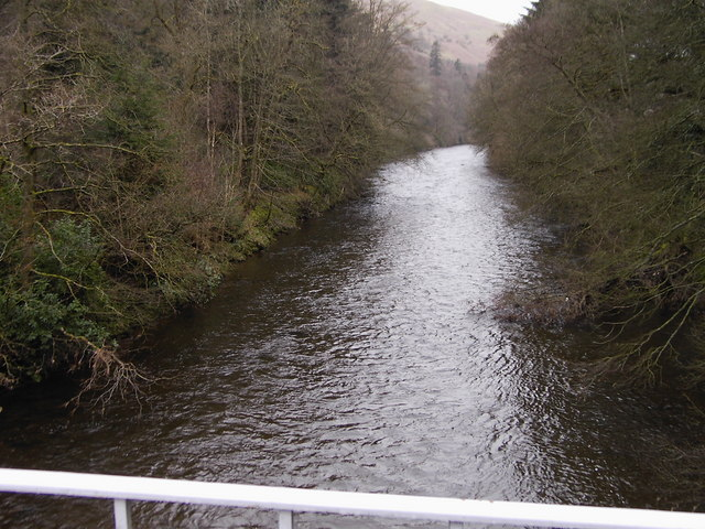 River Esk from The Duchess Bridge