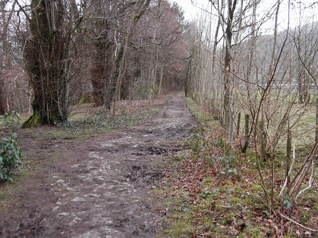 Footpath along side the River Esk