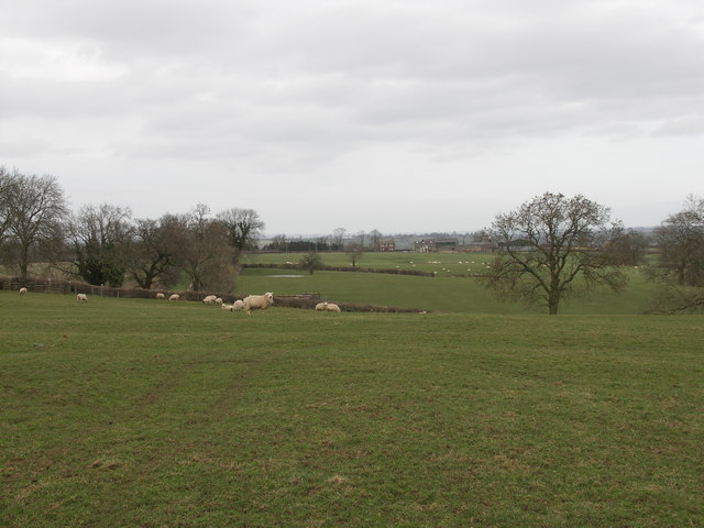 View to Hill Top Farm.