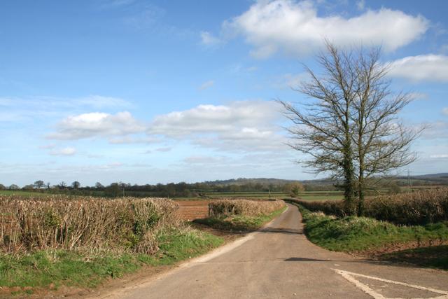Crossroad near Leighton