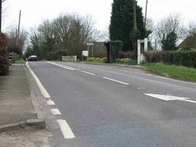 Selsted junction on the A260