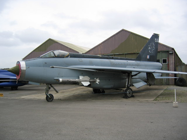 Lightning Aircraft at Yorkshire Flight Centre
