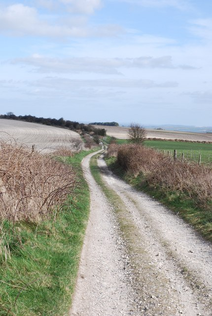 Old Shaftsbury Drove - across Swallowcliffe Down
