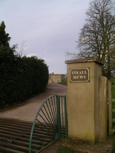 Entrance to Tixall Mews