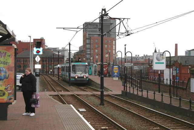 G-Mex station, Manchester Metrolink