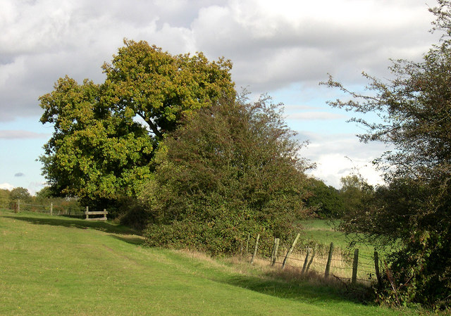 Public Footpath, Colton Hills near Wolverhampton