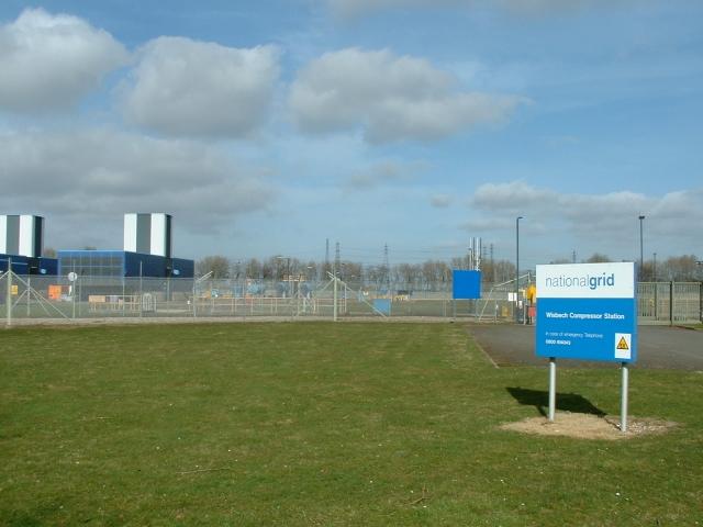 WisbechNational Grid Compressor Station
