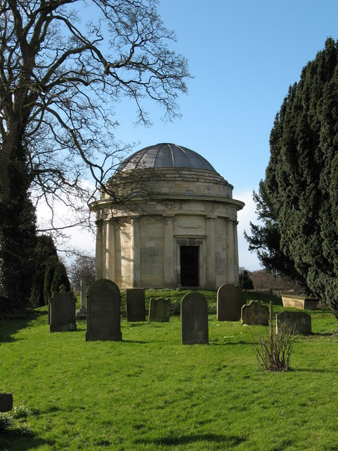 The Thompson Mausoleum in Holy Trinity churchyard