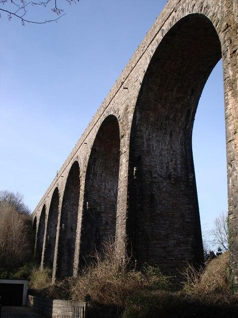 Below Hookhills Viaduct, near Broadsand beach