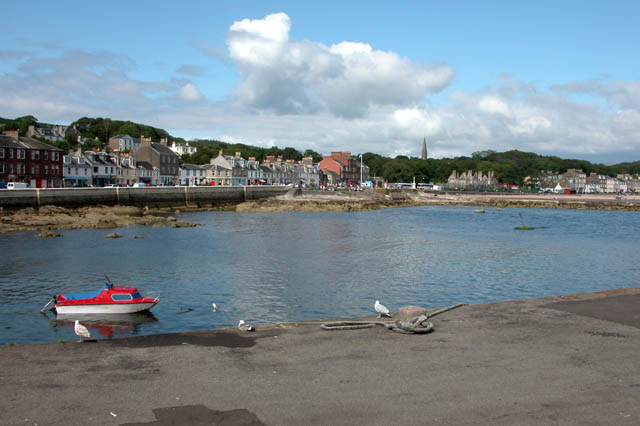 Millport from the pier