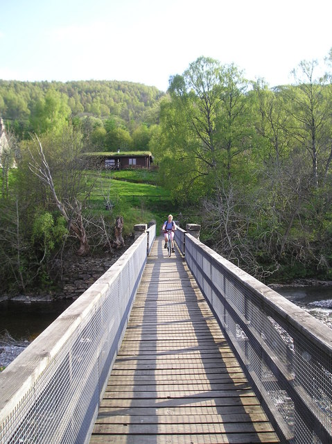The Footbridge at Blair Atholl