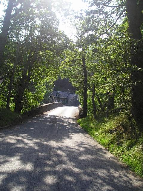 The bridge over the river Garry at Killiecrankie
