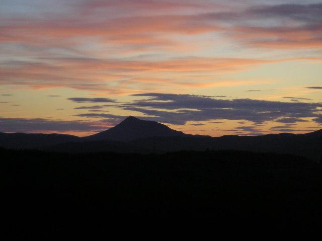Schiehallion at sunset