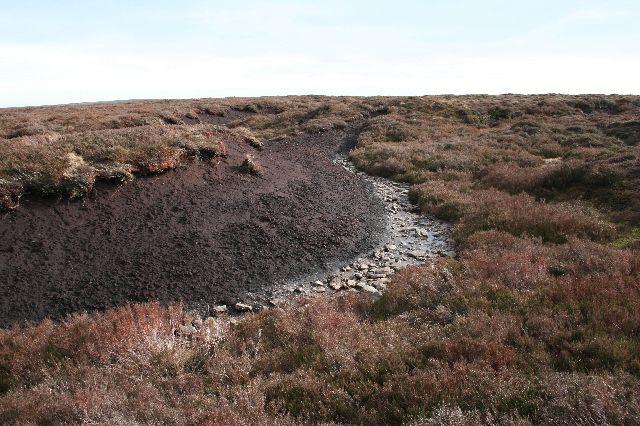 Peat hag, Harden Moor