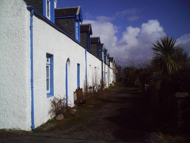 Vernacular Housing, Plockton.