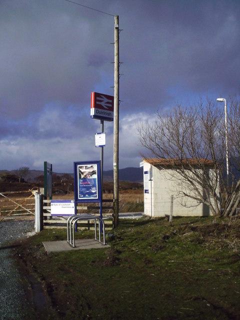 Duirinish station sign