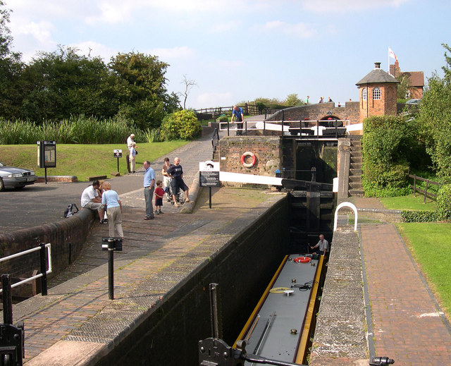 Bratch Bottom Lock, Staffs and Worcestershire Canal