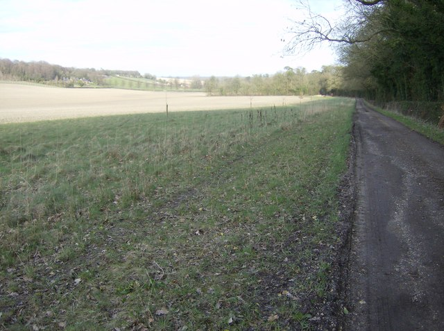 On the footpath from Wergs Farm