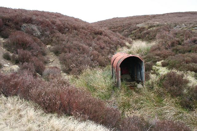 Grouse beaters' shelter, Upper Derwent Valley