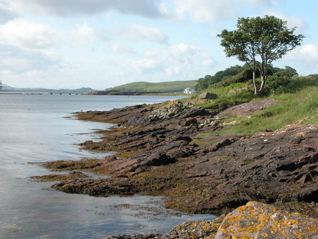 Looking South from Cumbrae Slip