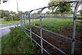 SJ7781 : Cheshire Railings by Roger Gittins