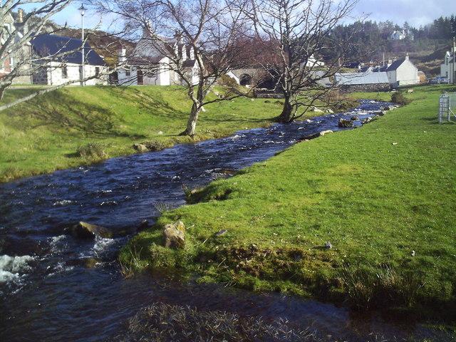 River running through Duirinish