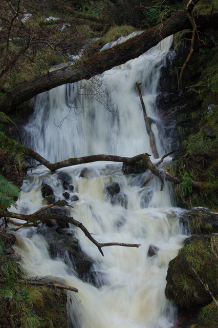 Waterfall At Cwm Pyrgad