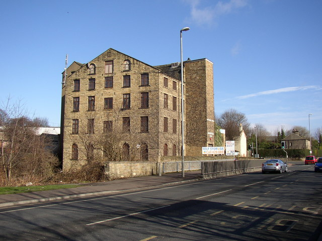 Mill at bottom of Whiteacre Street , Leeds Road, Deighton, Huddersfield