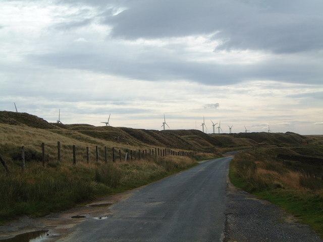 Ovenden Moor Wind Farm